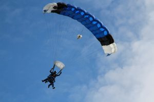 Things to do in Krakow - skydiving